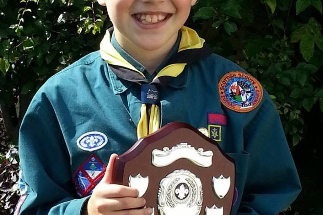 Finlay Scott - Scout of the Year 2013/14